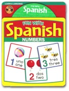 Fun with Spanish Numbers Audio CD