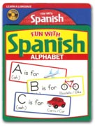 Fun with Spanish Alphabet Audio CD